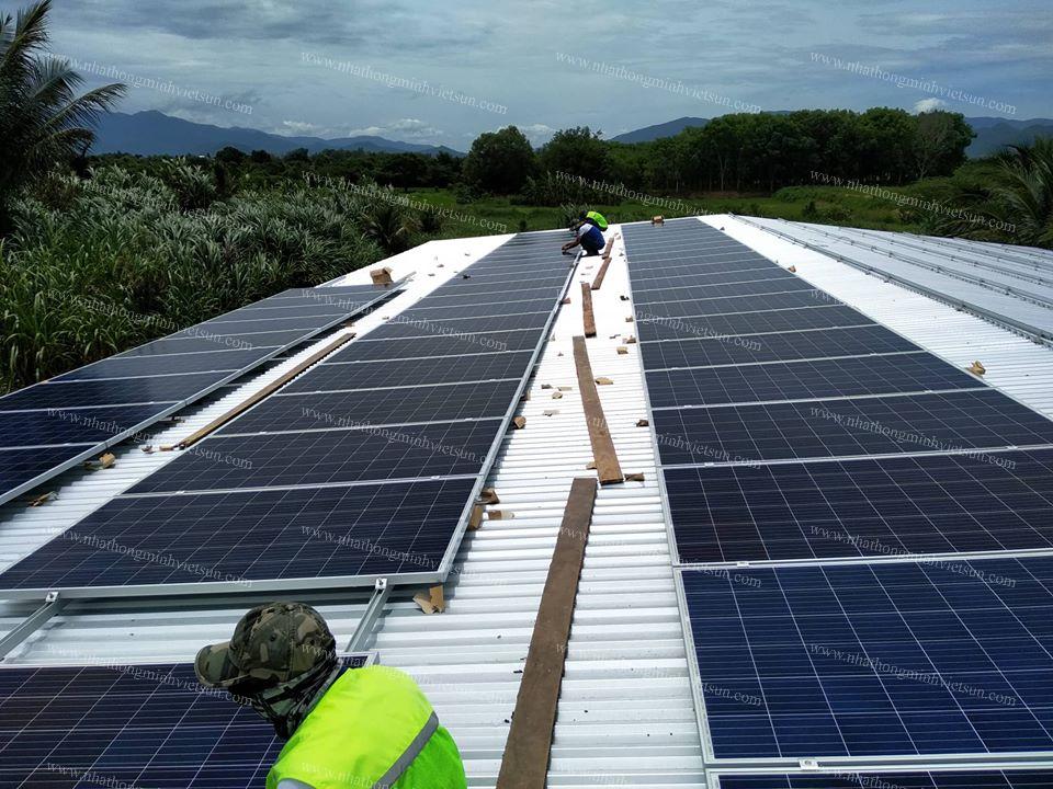 Dịch vụ lắp điện năng lượng mặt trời tại Ninh Thuận