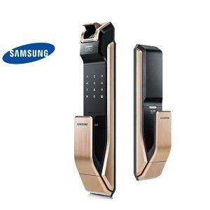 khóa cửa vân tay Samsung SHS - P718LMG/EN