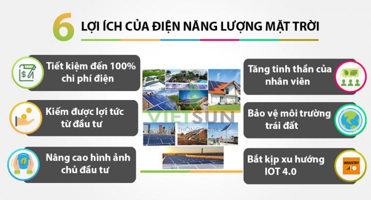 Lợi ích của điện năng lượng mặt trời Ninh Thuận mang lại