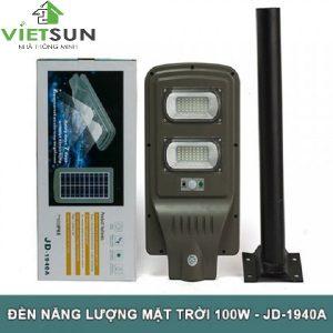 Mẫu sản phẩm đèn năng lượng mặt trời JD – 1940A(40W) - Việt Sun