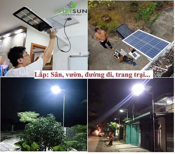Các loại đèn led năng lượng mặt trời
