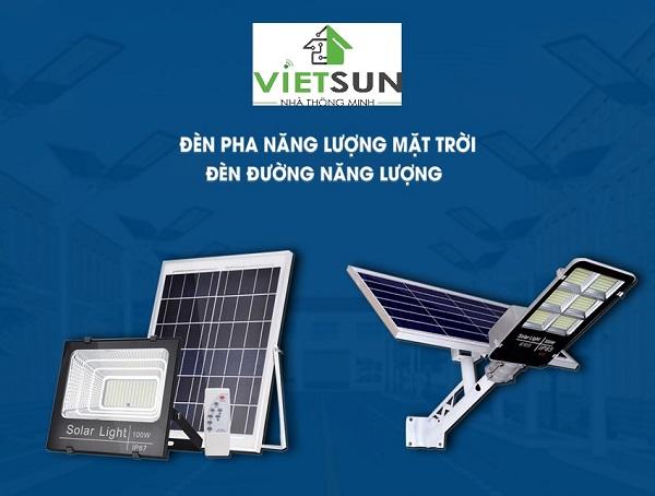 Việt Sun - Địa chỉ bán đèn năng lượng mặt trời