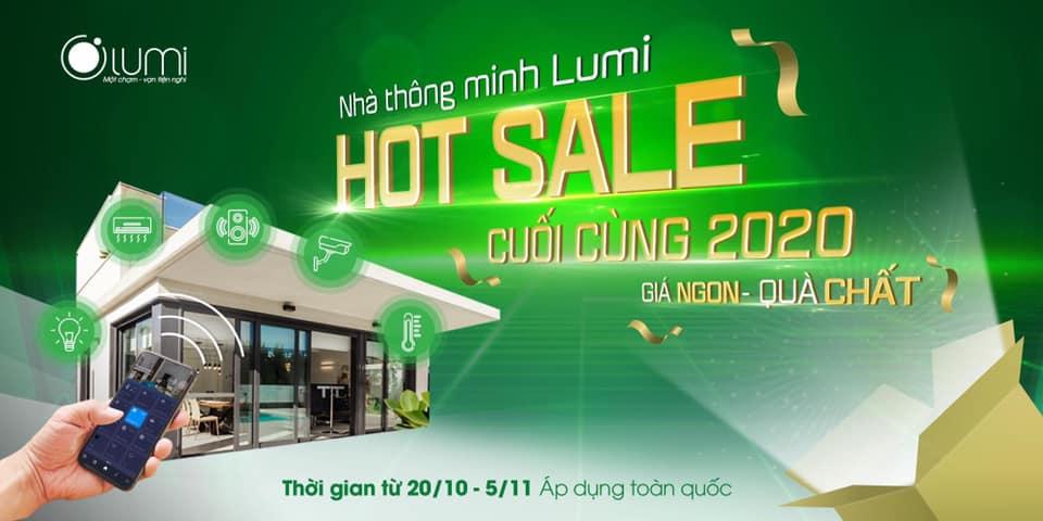 Hot Sale lắp nhà thông minh 2020
