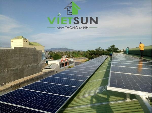 Điện mặt trời cho sản xuất