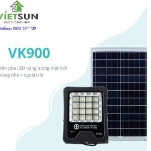 Đèn pha năng lượng mặt trời 100W - VK900A
