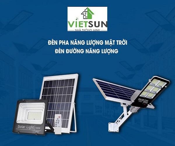 NhaThongMinhVietSun - Địa chỉ bán đèn năng lượng mặt trời tại Ninh Thuận