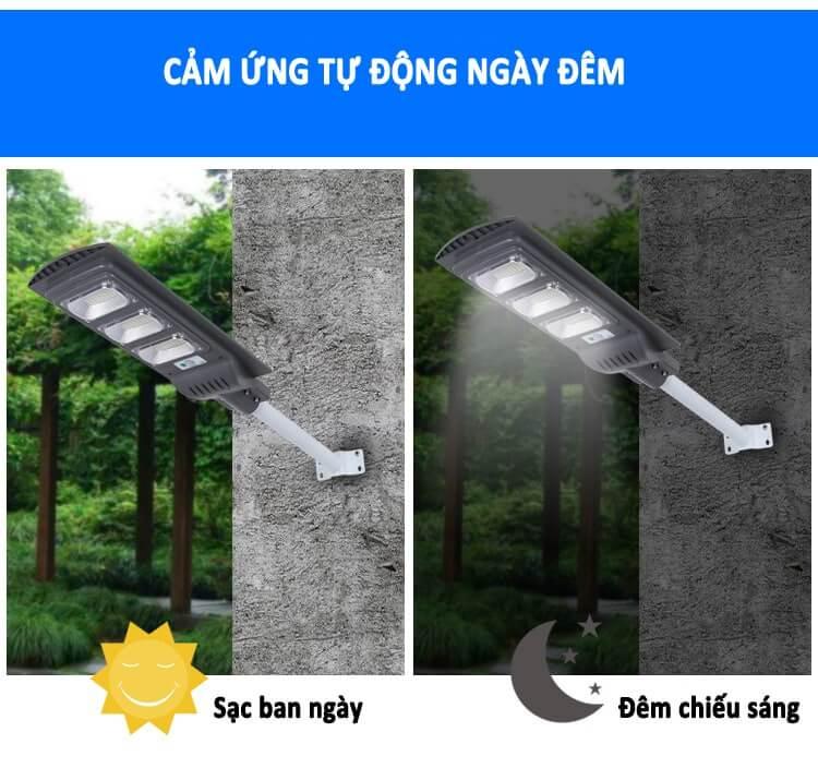 Đèn năng lượng mặt trời chiếu sáng tự động