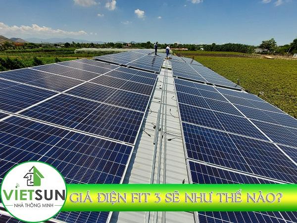 Bộ Công Thương: Sẽ bỏ giá FIT cố định cho điện mặt trời áp mái